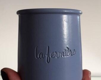 Vintage PIG Planter Farmhouse Mid Century Animal Ceramic Pot Container Gray Yellow Cream Purple Free Shipping