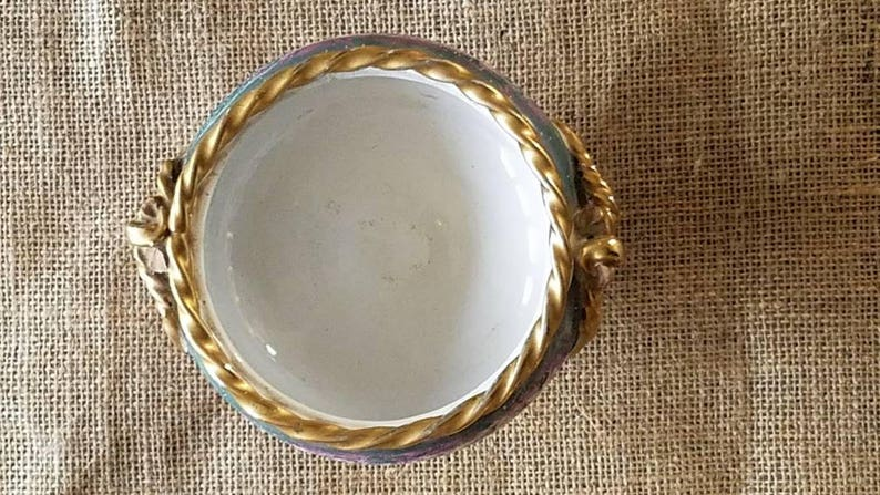 Made in Italy Vintag Italian Ceramic 6.5 Wide Bowl