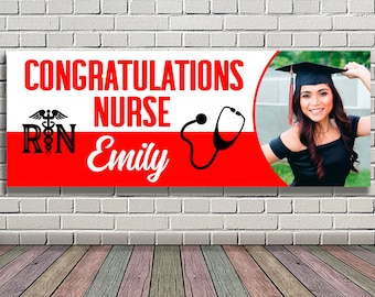 Nurse Banner Etsy