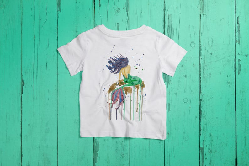 Mermaid III Kids Girls Children T-Shirt T-Shirt