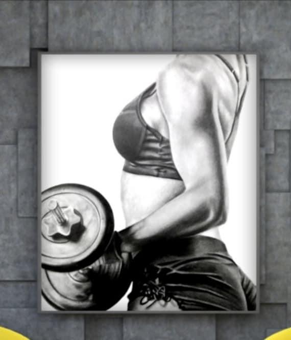 Gym Babes bekommen wettbewerbsfähig