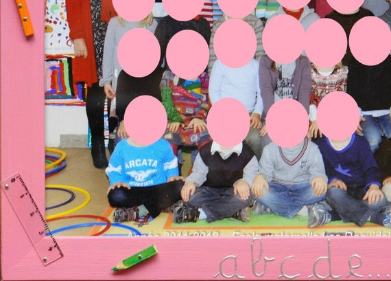 Cadre Photo Bois Pour Photo De Classe 18x24cm Idee Decoration