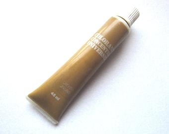 """Tube de colorant """"jaune oxyde"""" BIEN ENTAME. A disperser ds peintures à l'huile, glycérophtalique, cellulosique émulsion vinylique, acrylique"""
