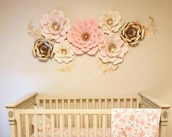 Baby girl nursery decor | Etsy