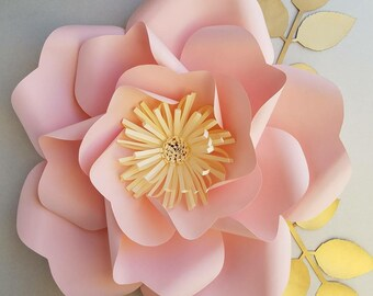 Diy paper flowers etsy pdf paper flower template no13 paper flower diy paper flowerspaper flower patterndiy decorbirthday partywedding decoration mightylinksfo