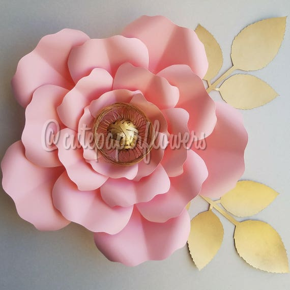 PDF Paper Flower Template No 7 Paper Flower DIY Paper Etsy