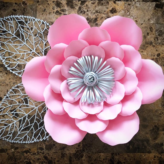 pdf paper flower template no 17 paper flower diy paper etsy