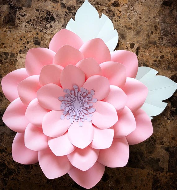 pdf paper flower template no 20 paper flower diy paper etsy