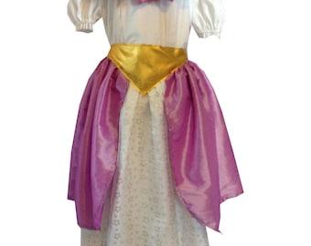 "A ""flower fairy"" costume"