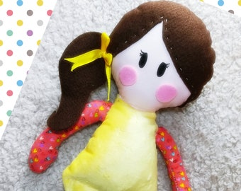 Belle is one of the 'Love-me-Do' Doll family and is the perfect soft toy/companion for kids of all ages!