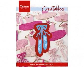 Cutting die, Die Creatables dancer pad, Scrapbooking, Marianne Design