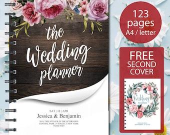 Keepsake Wedding Planner Book Keepsake Wedding Book Etsy
