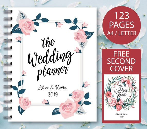 Wedding Planner Printable Printable Wedding Planner Wedding Etsy