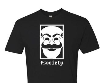 MR. ROBOT Novelty T-Shirt! F Society fun tee