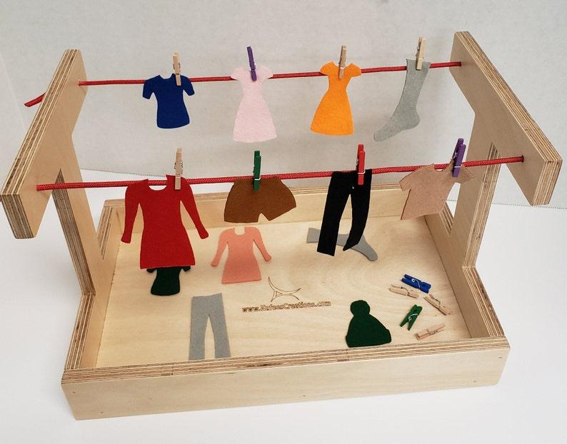 Clothesline activity