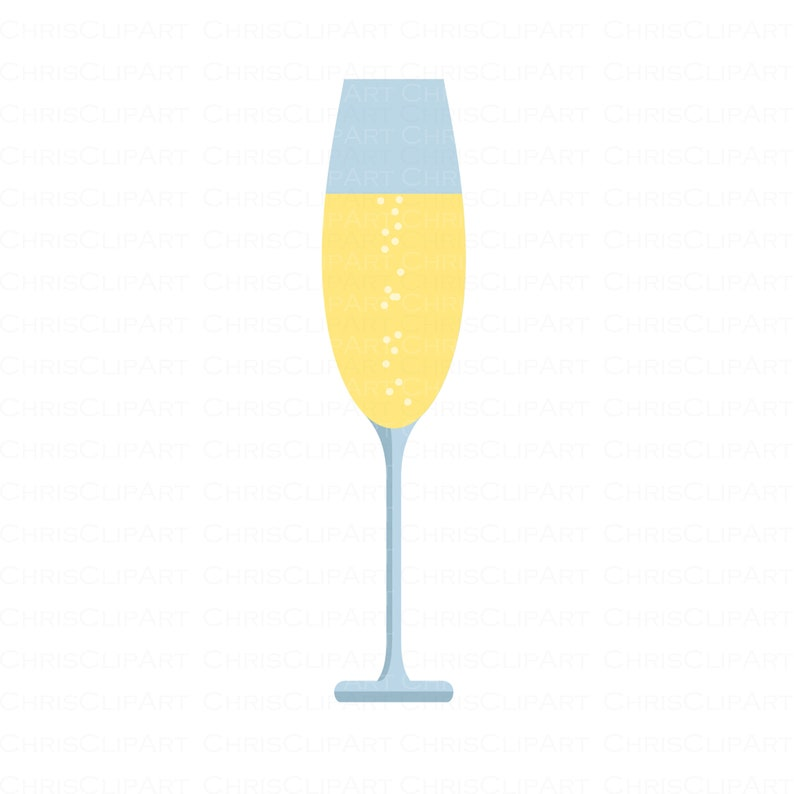 Champagne Glass Clipart Champagne Svg Champagne Png Wine Etsy