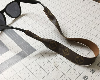 57189f45fe8a Upcycled Louis Vuitton Sunglasses Strap