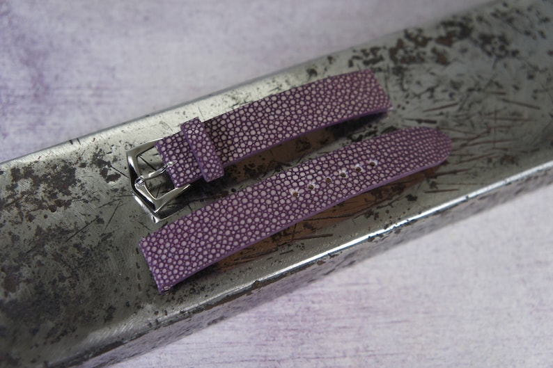 0e568416fec Stingray watch strap 18 20 22 24mm leather watch band For