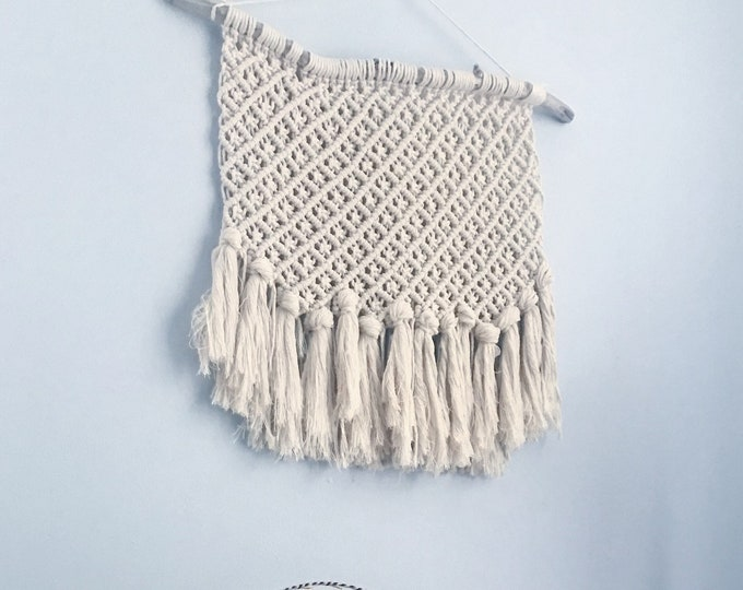 pineapple P A R T Y macrame wallhanging