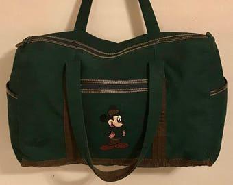 Disney's Mickey Mouse weekender bag