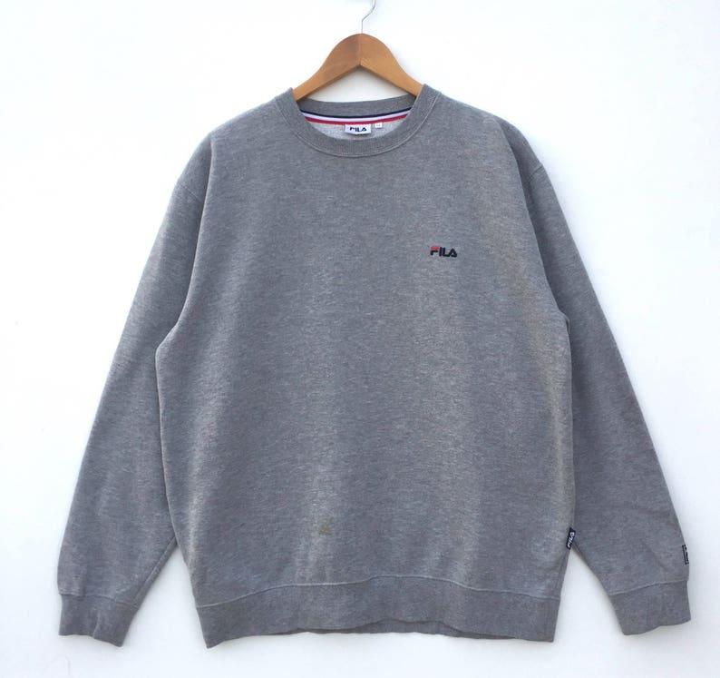 3b9af217a493b OVERSIZE RARE Funky Fila sweatshirt with Hoodie / Fila | Etsy