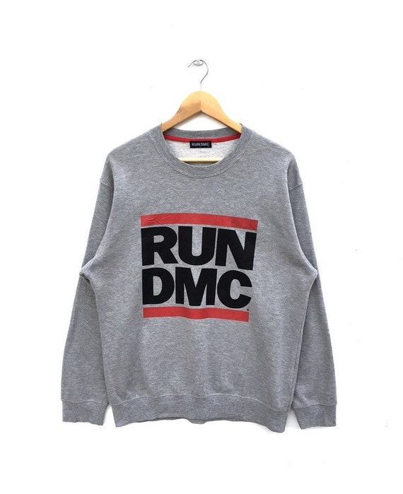 adidas run dmc vintage sweatshirt