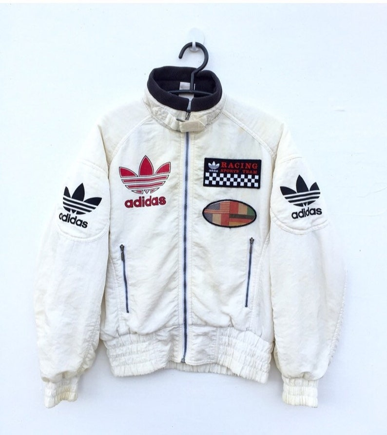 best service 862aa 50400 LIMITED EDITION Vintage 80s ADIDAS Racing Sports Team Big   Etsy