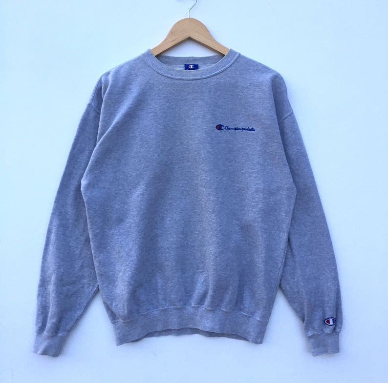 c68cd3ebe2f5 RARE CHAMPION spell out small logo Sweatshirt Pull Over