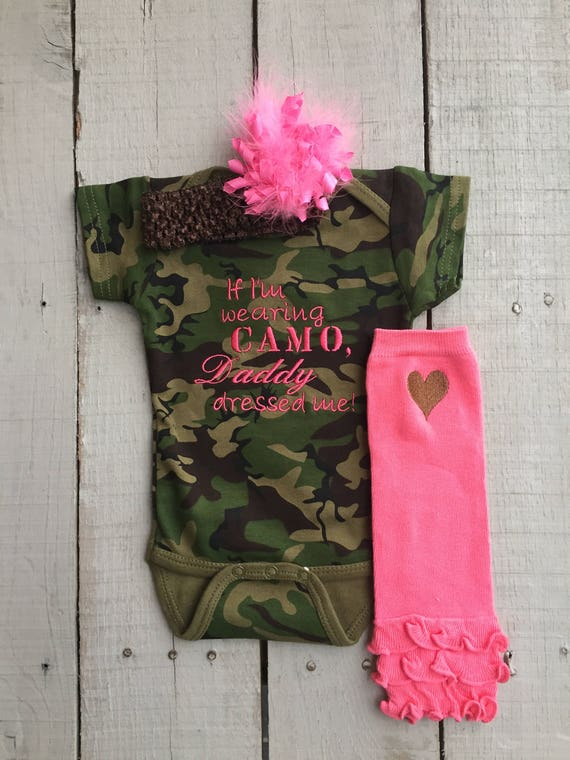 Baby Girl Camo Clothes Classy Camouflage Clothing Baby Girls' Clothing Camo Baby Baby Etsy