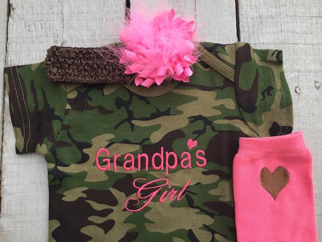 Baby Girl Camo Clothes Interesting Baby Camo Girl Camo Baby Outfit Baby Girl Clothes Etsy