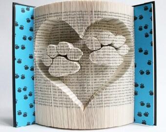 """Sculpture sur livre """"Papattes"""" 3D"""