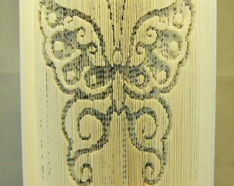 """""""Butterfly"""" book sculpture"""