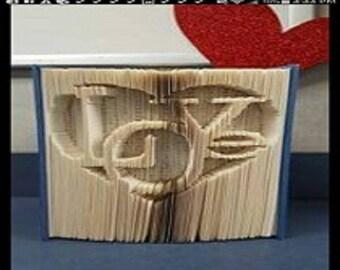 """Sculpture sur livre """"Love"""" 3D"""