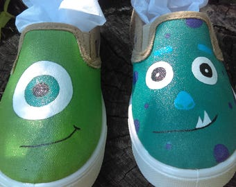 Monster Inc custom shoes