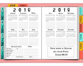 Jw 2018 calendar | Etsy