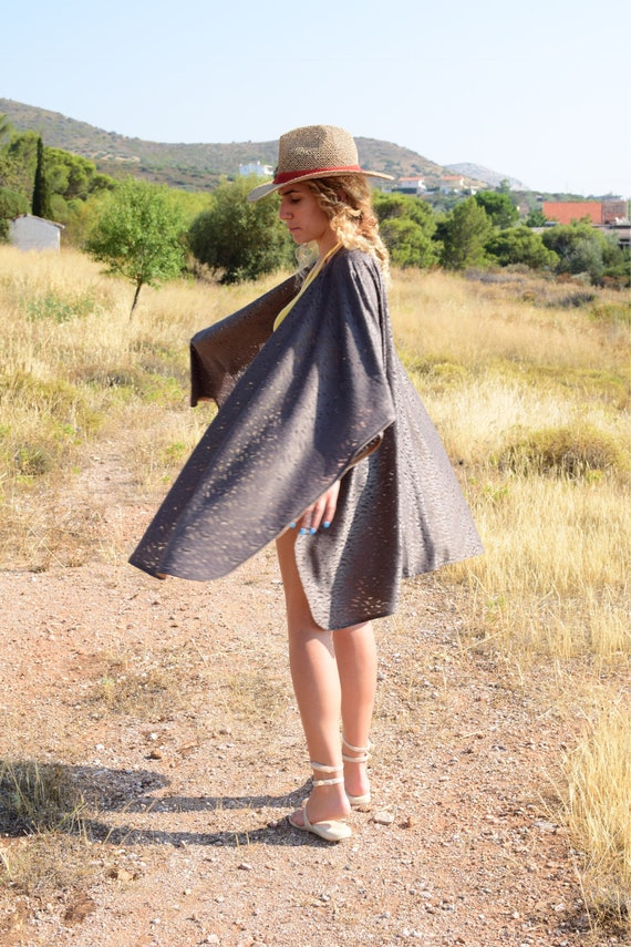 Gypsy Ethnic Folk Khaki Chic Bohemian Vibe The with fashion Gypsy Indie Gold Boho Look touches Bronze Lace Caftan Get a8IqPY