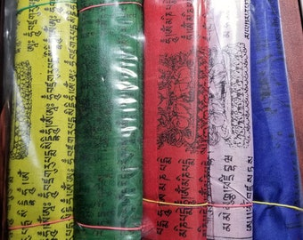 Tibetan prayer and purification flag( wind horse)
