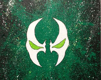 Spawn Splatter Painting