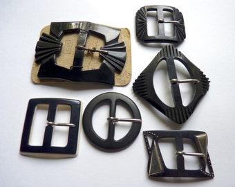 9660d36f182 Assortiment de différentes boucles de ceinture vintage