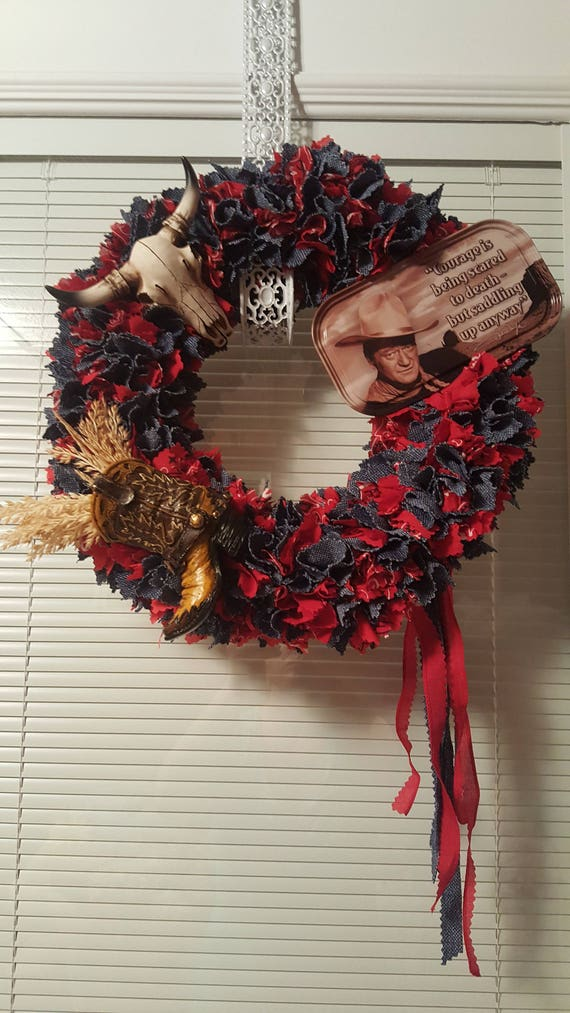 John Wayne Country Wreath | Etsy