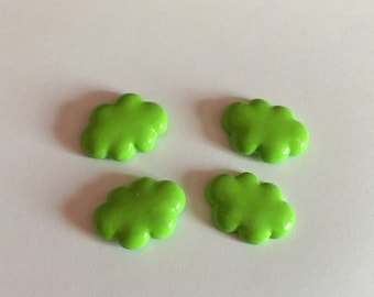 Small green cloud decoration