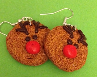 Earrings Christmas reindeers!