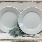 Vintage *Set of 2* Plates Wall Decor Ironstone