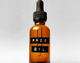 illuminating face oil 1oz -  facial oil - face serum - anti-aging - moisturizer - oil cleanser - self care - organic - skincare - natural