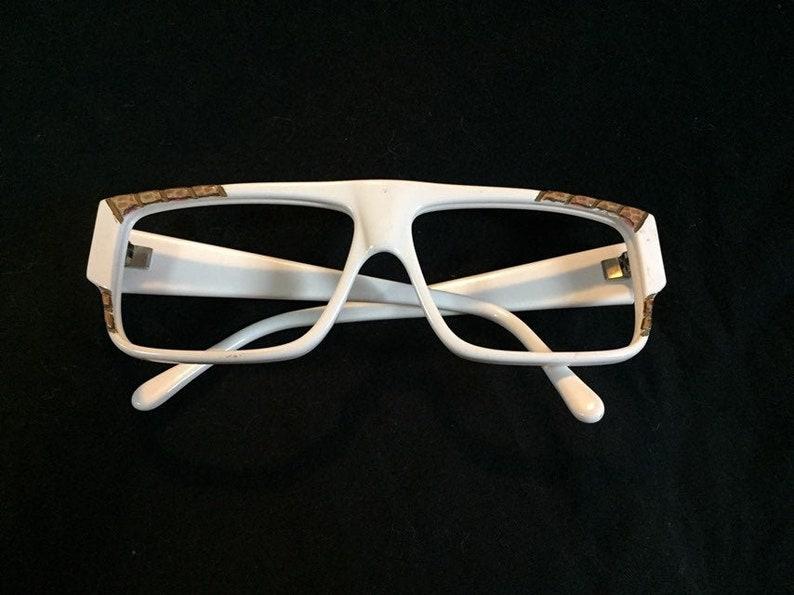 70s Eyeglasses White Eyeglass Frames Women's Eyeglasses | New Old Stock Glasses | Vintage Sunglasses Frames Rectangular Frames
