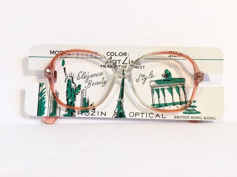 Pink Eyeglass Frames | 80s Eyeglasses Round Glasses | Pink Eyeglasses Womens Frames | Retro Eyeglasses | Artline Rozin Optical