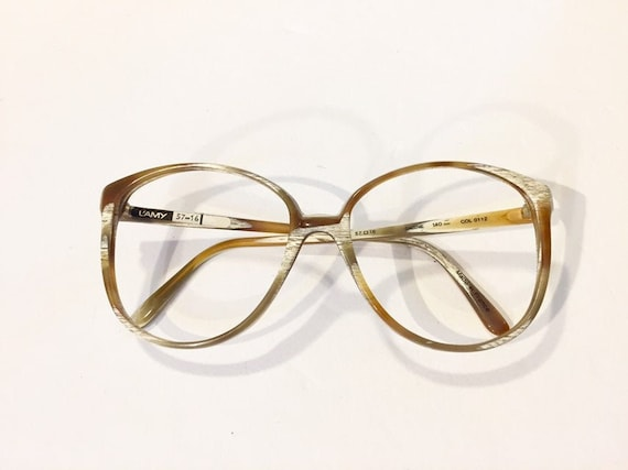 Oversized Eyeglasses L'Amy Womens Eyeglasses Caram