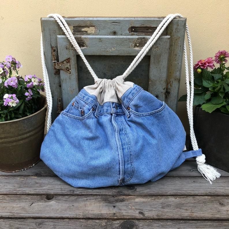 Zaino realizzato da Jeans LEVI/'S ~ BackPack from Jeans Levi/'s