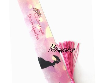 Bridgerton bookmarks