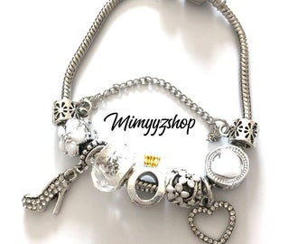 Charms love bracelet